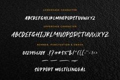 Black Shadow - Brush Font Product Image 6