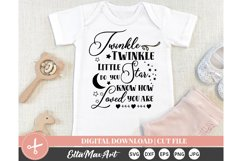 Twinkle Twinkle, Cut File Svg, silhouette cut file Product Image 1