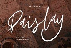 Paislay - A Stylish Signature Font Product Image 1