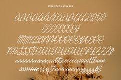 Heavenllys Fancy Script Font Product Image 5