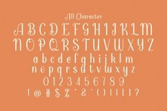 Web Font Pamolea Product Image 3
