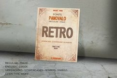 Panovalo 3D Retro Font | Open Type & Woff Product Image 6