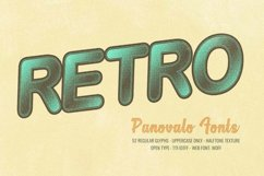 Panovalo Halftone Font   Open Type-Woff Product Image 2