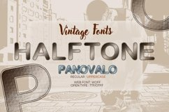 Panovalo Halftone Font   Open Type-Woff Product Image 3