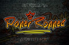 Paper Ropped - Graffiti Font Product Image 1