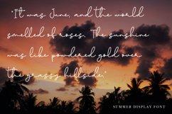 Paradise Sunshine - Handwritten Font Product Image 5