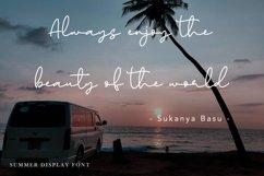 Paradise Sunshine - Handwritten Font Product Image 4