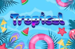 Paradiso Tropical Summer Font Product Image 5