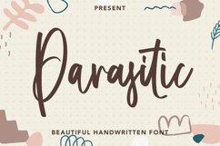 Web Font Parasitic - Beautiful Handwritten Font Product Image 1