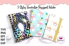 3 Styles Vaccination Passport Holder|Travel Vaccination Card Product Image 1