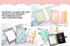 3 Styles Vaccination Passport Holder|Travel Vaccination Card Product Image 3