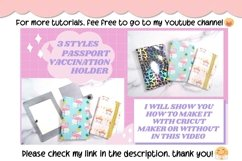 3 Styles Vaccination Passport Holder|Travel Vaccination Card Product Image 4