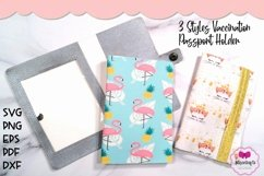 3 Styles Vaccination Passport Holder|Travel Vaccination Card Product Image 2