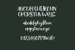 Web Font Pasta Sauce - a fun script font Product Image 2