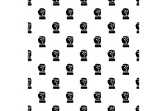 Fist up pattern seamless vector Product Image 1
