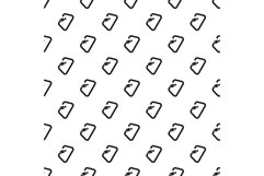 Carabine tool pattern seamless vector Product Image 1