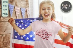 All American SVG | Boy | Girl | July 4th | Patriotic Product Image 5