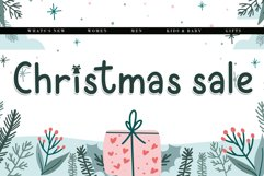 Pattia - A Christmas Display Font Product Image 4