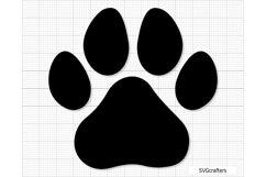 Paw Print svg, dog paw print svg, dog paw svg, paw svg Product Image 3