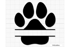 Paw Print svg, dog paw print svg, dog paw svg, paw svg Product Image 4