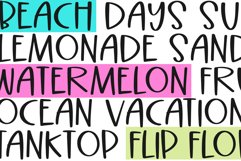 Beach Palms - Quirky Handwritten Font Product Image 6