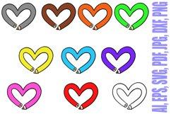 178 Coloured Pencil Cartoon Illustration Bundle Product Image 2
