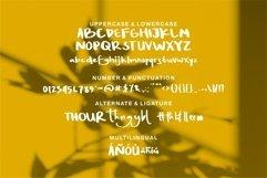 Web Font Percy Kurel - A Handwritten Script Font Product Image 2