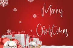 Perfect White - Christmas Handwritten Font Product Image 3
