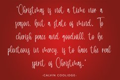 Perfect White - Christmas Handwritten Font Product Image 6