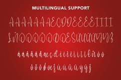 Perfect White - Christmas Handwritten Font Product Image 4