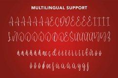 Web Font Perfect White - Christmas Handwritten Font Product Image 5