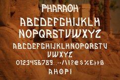Pharaoh - Display Ethnic Font Product Image 5