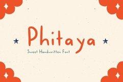 Phitaya - Sweet Handwritten Font Product Image 1