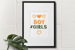Heart - Classic Display font with doodle glyphs Product Image 6