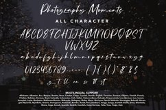 Photography Moments - Modern Calligraphy Font Product Image 4