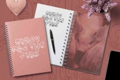 Web Font Piggy Font Product Image 2