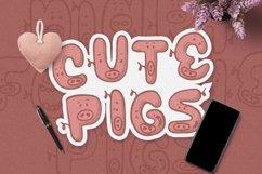 Web Font Piggy Font Product Image 5