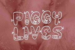 Web Font Piggy Font Product Image 3