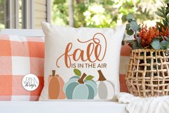 Fall Is In The Air SVG | Autumn Pumpkins Design Product Image 3