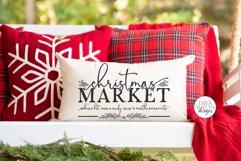 Christmas Market SVG   Winter Farmhouse Design Product Image 4
