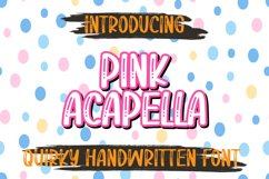 Pink acapella Product Image 1