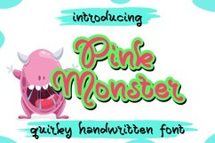 Pink Monster Product Image 1
