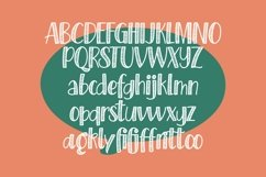 Web Font Pinstripes - Quirky Handrawn Font Product Image 4