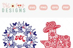 SVG Texas mandala | Texas zentangle | state map bundle Product Image 2