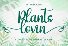 Plants lovin Product Image 1