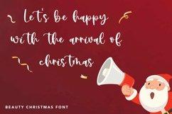Web Font Pointsettia - Beauty Christmas Font Product Image 4