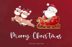 Web Font Pointsettia - Beauty Christmas Font Product Image 5