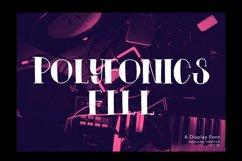 Polyfonics Display Font Product Image 3