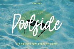 Web Font Poolside - Monoline Script Font Product Image 1