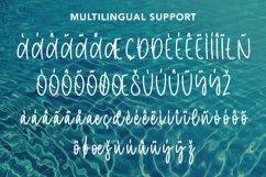 Web Font Poolside - Monoline Script Font Product Image 5